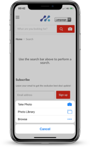 1. Enable Visual Search