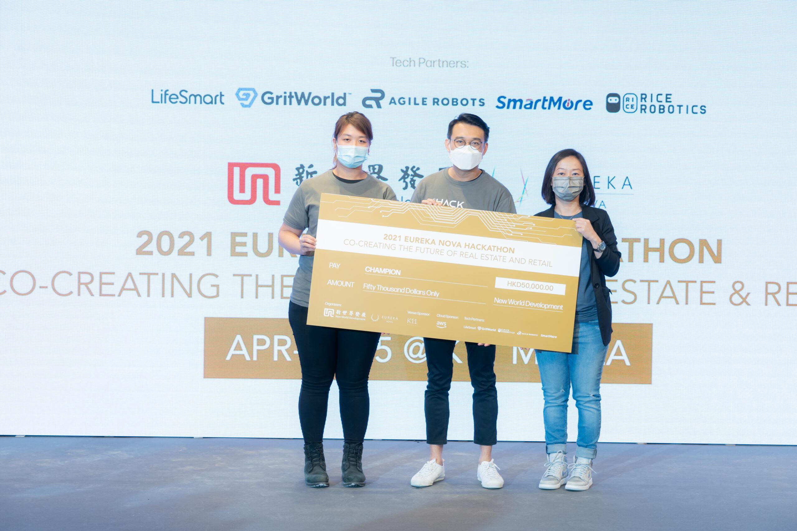 K11 Future of Retail Hackathon, Champion